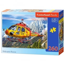 Castorland Helicopter Rescue Jigsaw - 260 Pieces