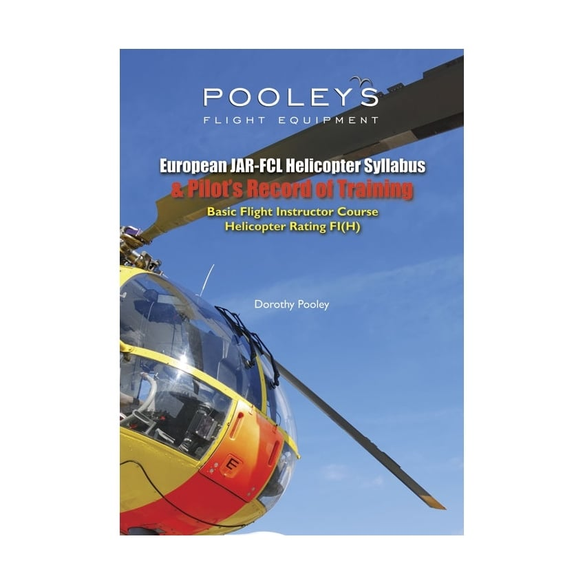 Helicopter Syllabus for Flight Instruction