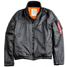Helicopter Wax Flight Jacket