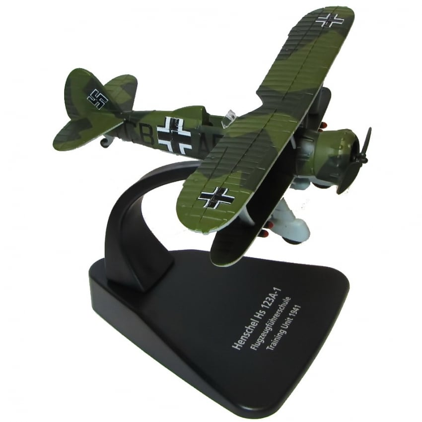 Henschel 123A Diecast Model - Scale 1:72