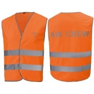 Hi Visibility Air Crew Jacket In Orange