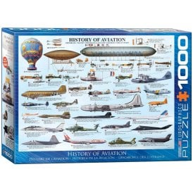 History Of Aviation Jigsaw Puzzle (1000 pieces)