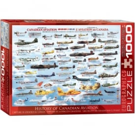 EuroGraphics History of Canadian Aviation Jigsaw (1000 pieces)