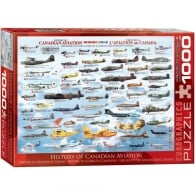 History of Canadian Aviation Jigsaw (1000 pieces)