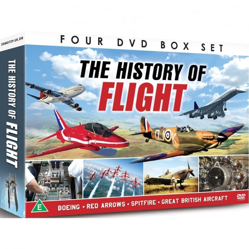 History Of Flight 4 DVD Set
