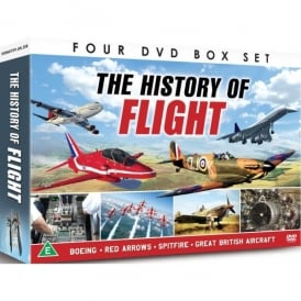 Demand Media History Of Flight 4 DVD Set
