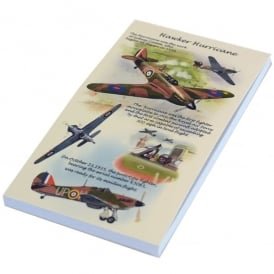 Hurricane Flip Up Notepad - Last Stock