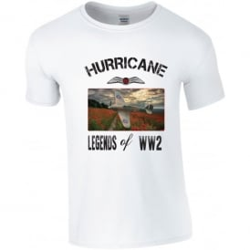 Hurricane Over Poppy Fields T-Shirt