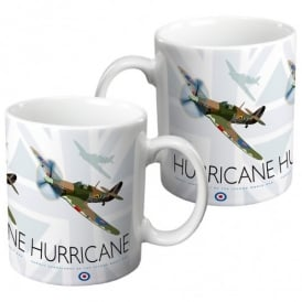 Hurricane Union Flag China Mug