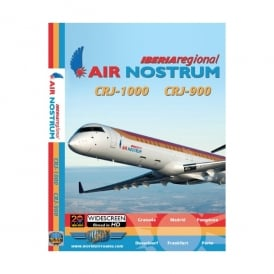 Just Planes Iberia Air Nostrum CRJ-1000 DVD