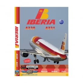 Just Planes Iberia Airbus A320 and A321 DVD