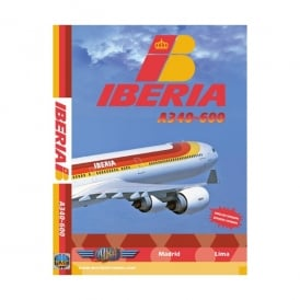 Just Planes Iberia Airbus A340-600 DVD