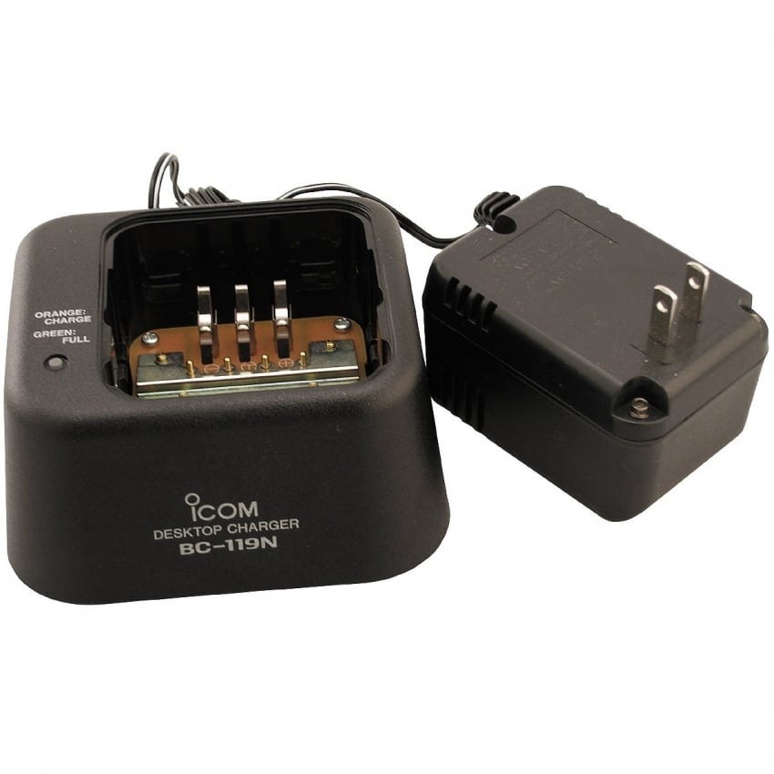 BC-119N Fast Charger Kit for IC-A24 and A6