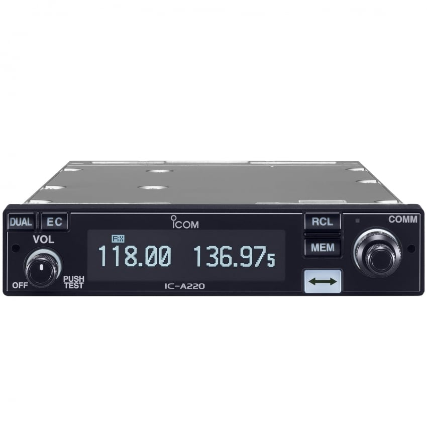 IC-A220G VHF Air Band Transceiver - MB113 Rear Plate