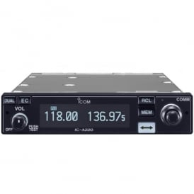Icom IC-A220K VHF Air Band Transceiver - MBA3 Rear Plate