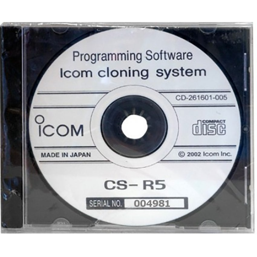 Icom IC-R6 Cloning Software