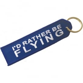 ACI Collectables I'd Rather Be Flying Embroidered Keyring