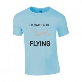 Chocks Away I'd Rather Be Flying T-Shirt