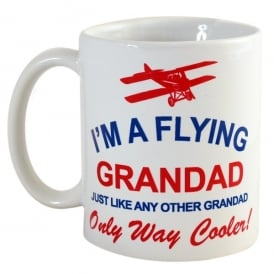 I'm A Flying Grandad Mug