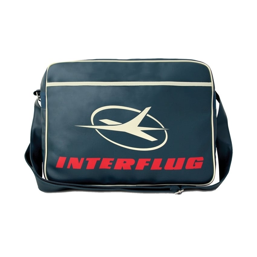 Interflug Classic Airline Sports Bag In Medium Blue