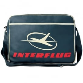 LogoBags Interflug Classic Airline Sports Bag In Medium Blue