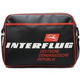 LogoBags Interflug DDR Airline Sports Bag In Black