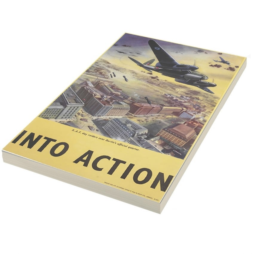 Into Action A5 Note pad