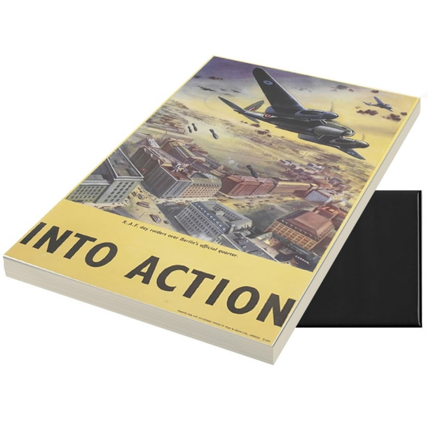Into Action A6 Magnetic Note pad