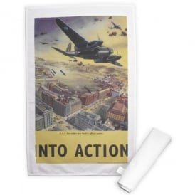 Into Action Tea Towel - Last Stock