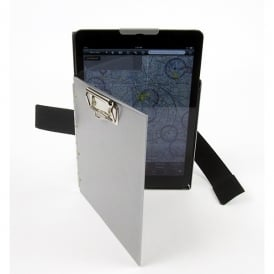 For Pilots Only iPro Commander iPad Kneeboard Silver - iPad Air