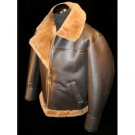 Irvin Lightweight Mens Leather Sheepskin Flying Jacket