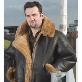 Irvin RAF Mens Leather Sheepskin Flying Jacket