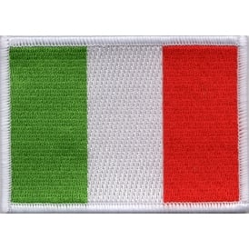 Italy Flag Iron on Patch