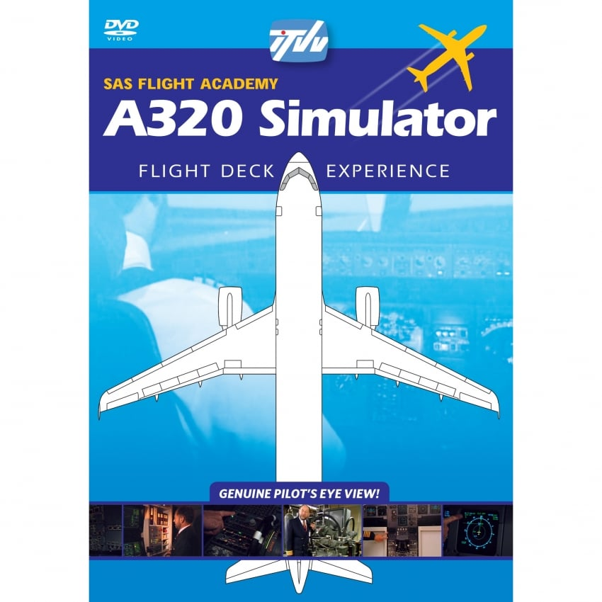 A320 Simulator SAS Flight Academy DVD