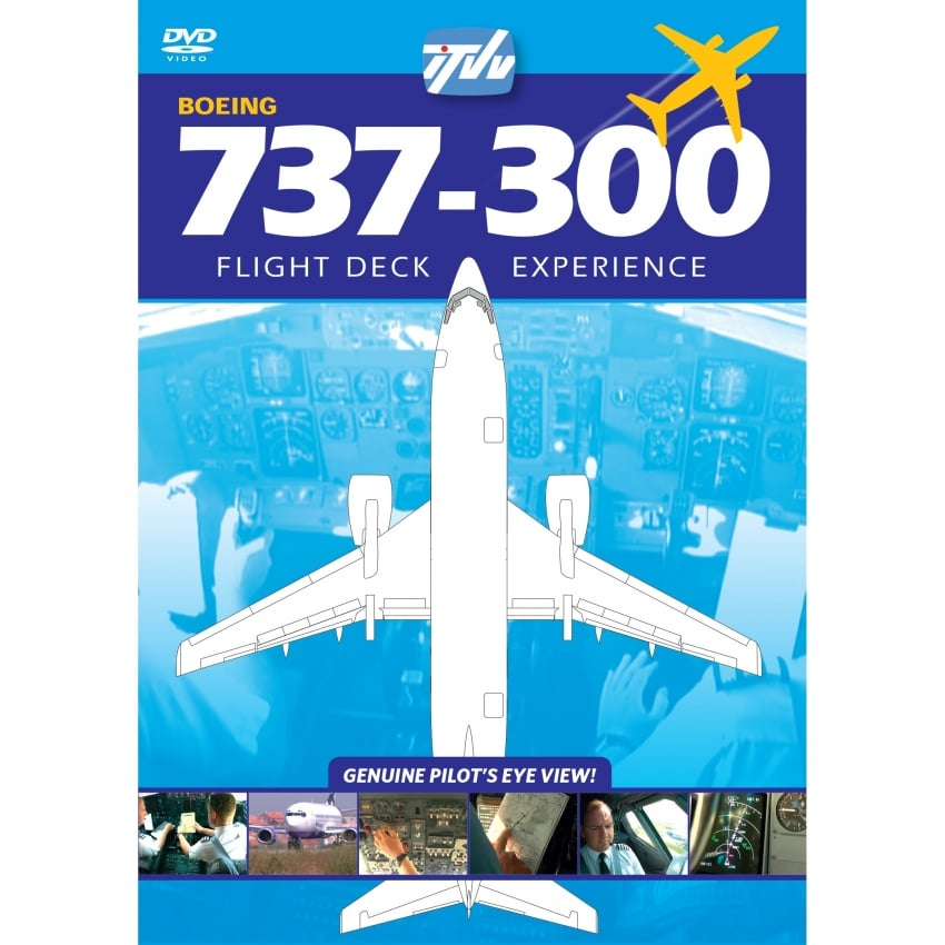 Boeing 737-300 GO Airlines DVD