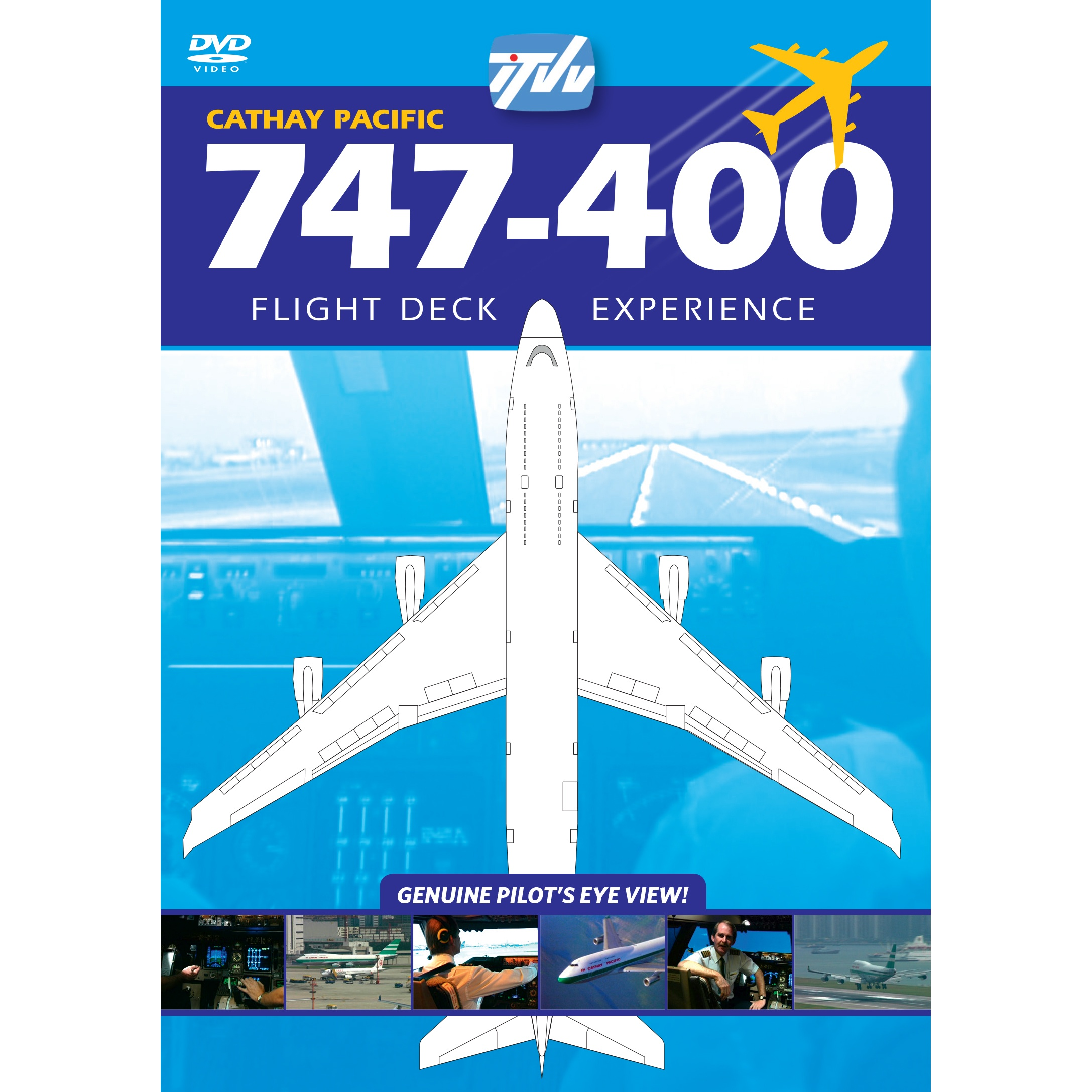 Boeing 747-400 flight training technical manuals, pilot, study.