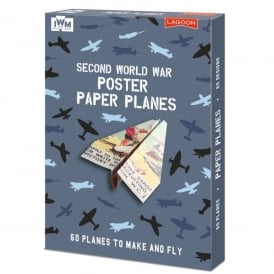 Imperial War Museum IWM Second World War Poster Paper Planes Kit