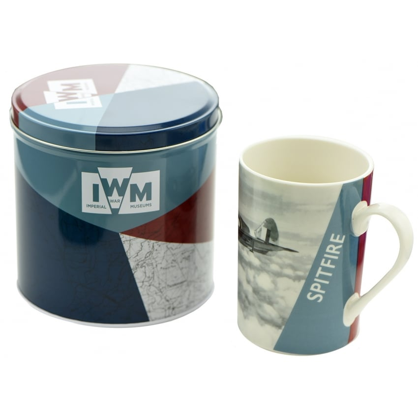 IWM Spitfire Mug In A Tin