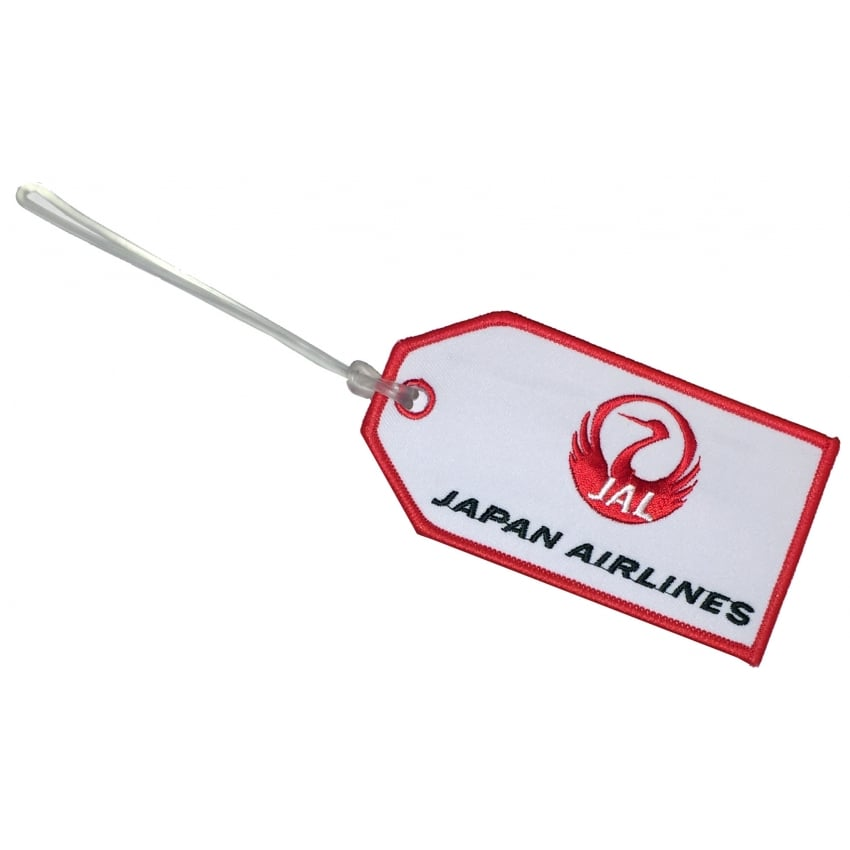 Japan Airlines Embroidered Baggage Tag
