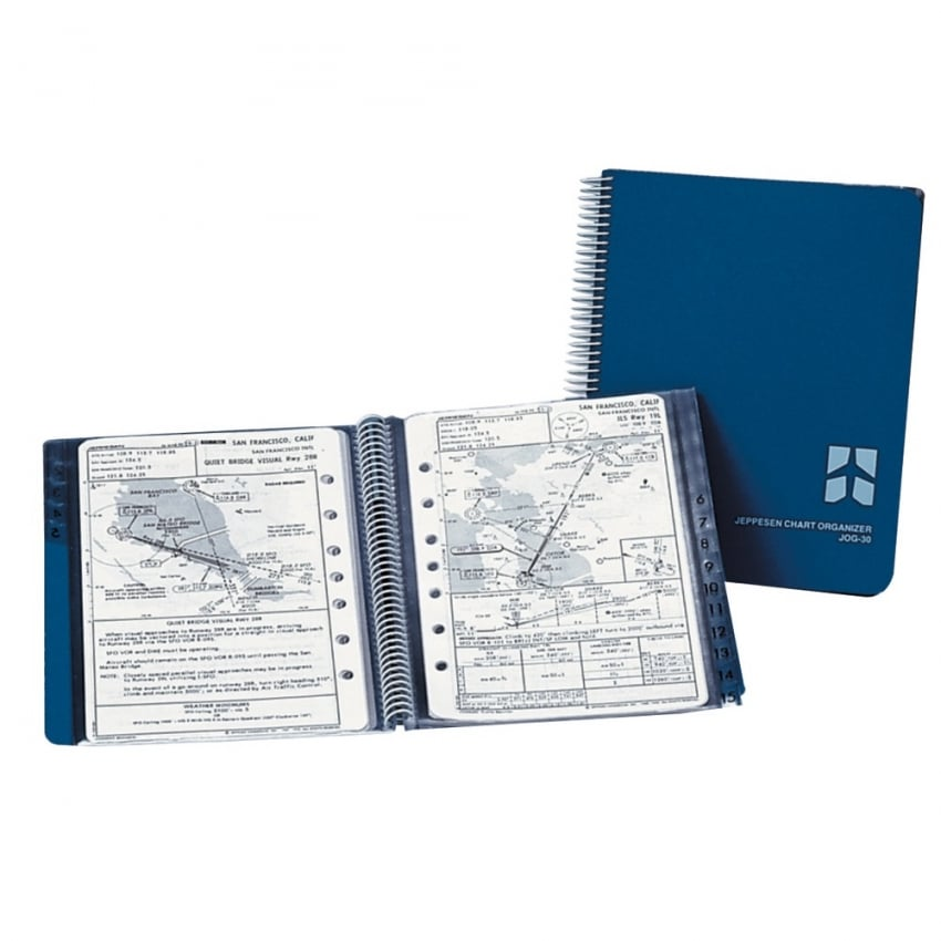 Jeppesen Chart Organiser with 30 Pockets