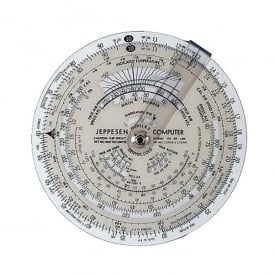 Jeppesen CR-2 Circular Flight Computer