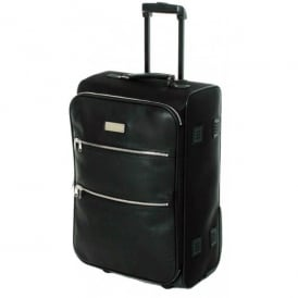 Jeppesen Leather Trolley Bag