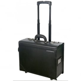 Jeppesen Leather Trolley Case