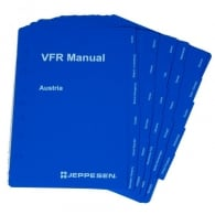 Jeppesen VFR Manual Country Tabs Inserts