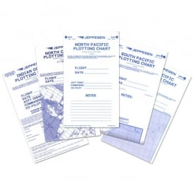 Jeppesen Jeppview Plotting Charts Set of 5