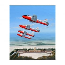 Jet Provosts Over Cranwell Christmas Cards - Pack of 4