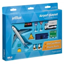 jetBlue 11 Piece Model Play Set