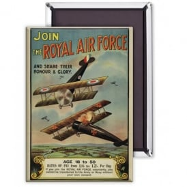 Join The Royal Air Force Fridge Magnet