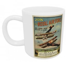 Join The Royal Air Force Mug - Last stock