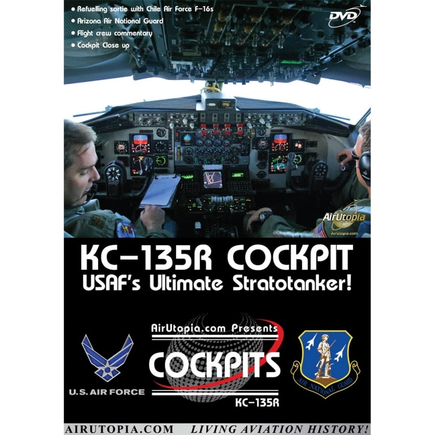 KC-135R Cockpit DVD